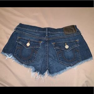 True Religion Distressed Joey Short